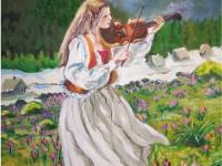 Zaproszenie na wystawę obrazów Bożeny Klimaszewskiej