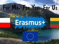 "Projektu Erasmus + ""For me, for you, for us"""