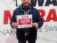"""Tomasz Tomaszewski na starcie """"Orlen Warsaw Marathon"""""""