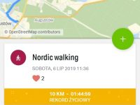"""ASKS na III Międzynarodowym Rekreacyjnym Marszu Nordic Walking """"Szlakiem Papieskim"""""""