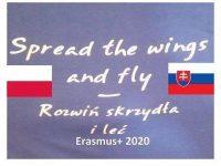 """""""Rozwiń skrzydła i leć"""". Projekt  w ramach programu Erasmus +"""