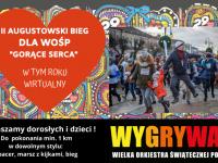 """II Augustowski Bieg dla WOŚP """"Gorące Serca"""""""
