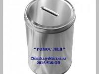 "Zbiórka publiczna "" POMOC JULII """