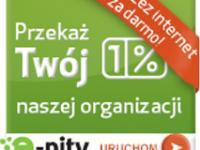Prosty sposób przekazania 1% przez  e-pity 2012 on-line
